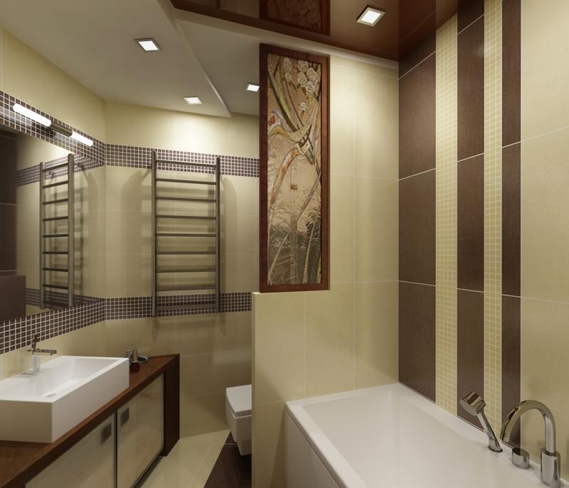 Ремонт в ванной дизайн фото