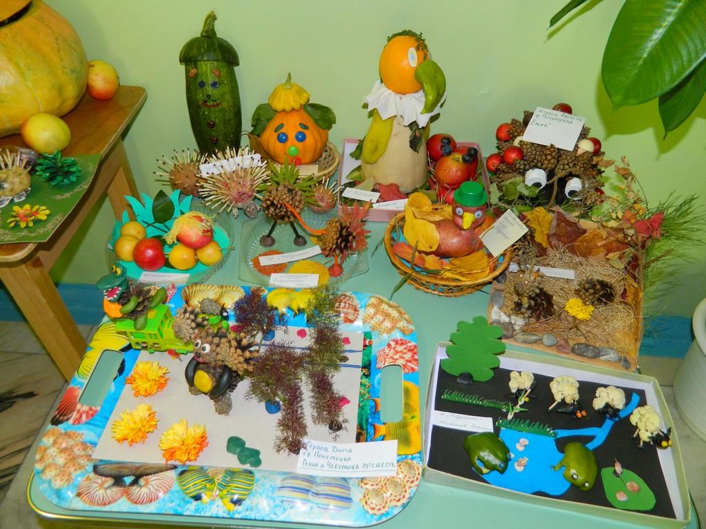 Поделки для детей из природных материалов своими руками