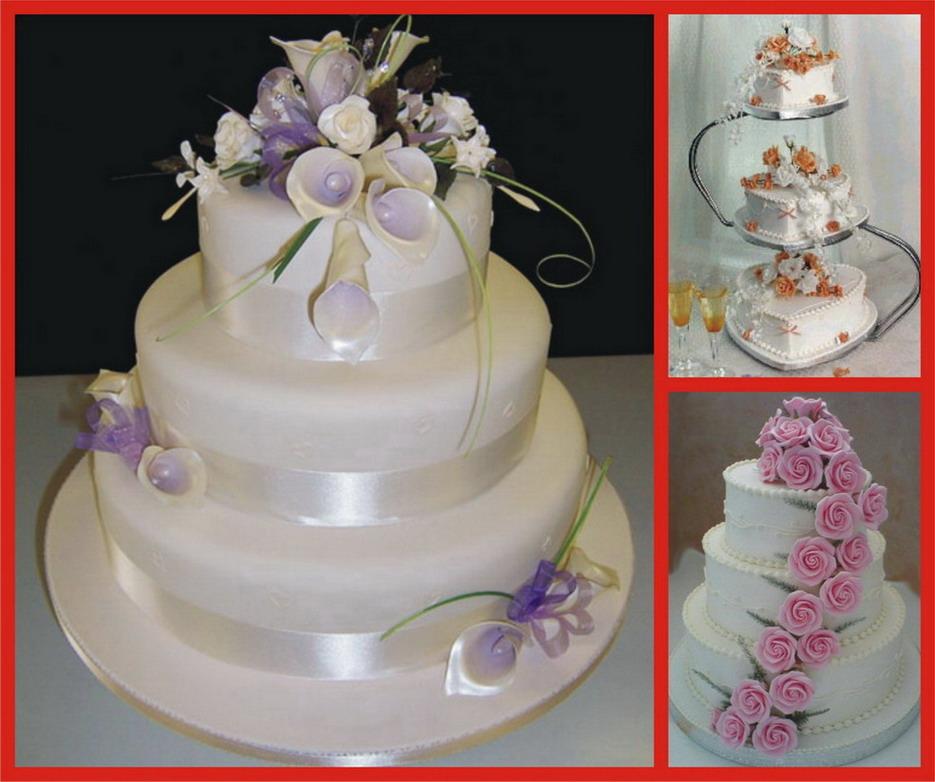 Свадебные торты+рецепты